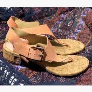 "Michael Kors Baby Pink ""London"" sandal"